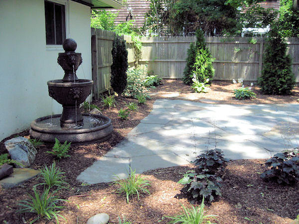 Completed Patio